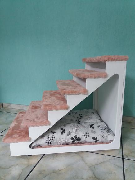 Escada Pet Oca Colorida 60 cm Altura