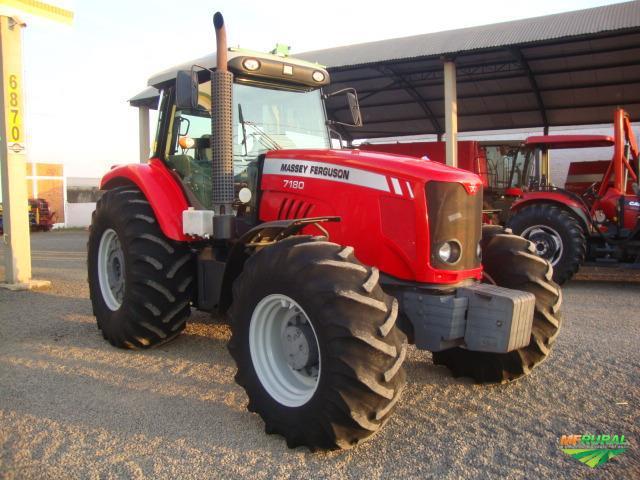 Trator Massey Ferguson 7180 4x4 ano 12