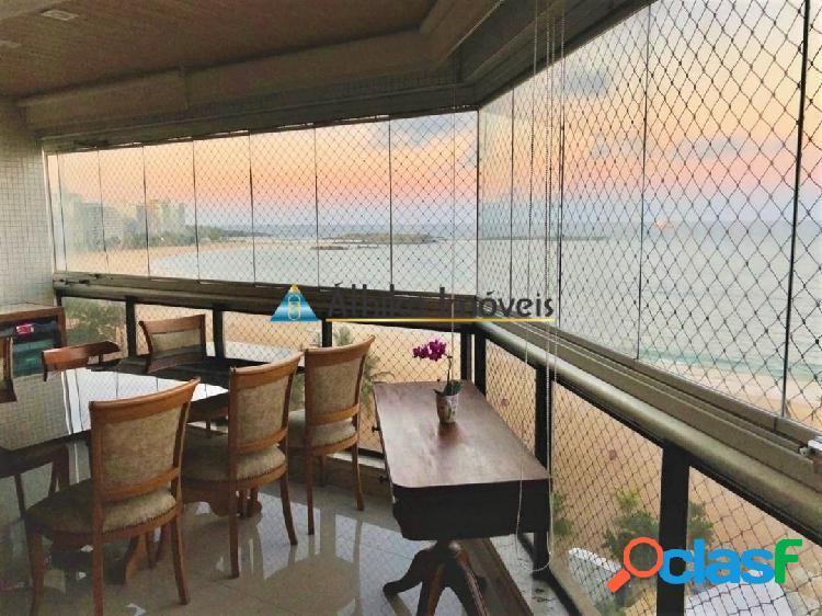 Apartamento Frente Mar na Praia da Costa de 3 Quartos 1