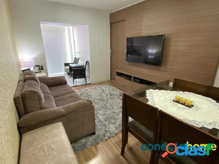 Apartamento de 52 m², 2 dormitórios e 1 vaga na Vila