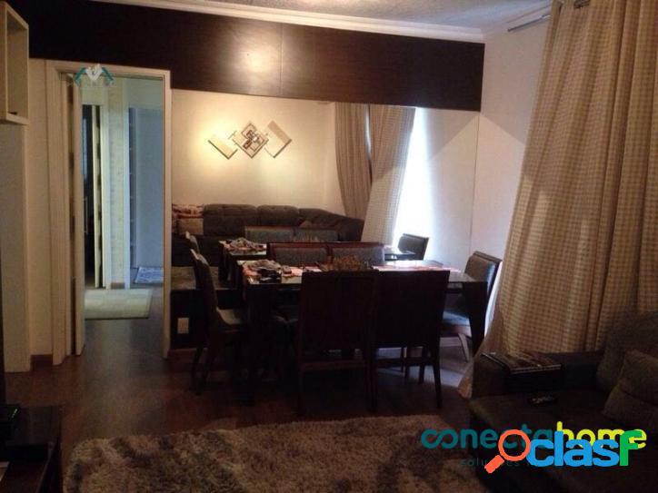 Apartamento de 92 m2, 3 dormitórios e 2 Vagas em Lauzane