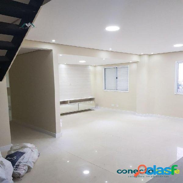 Cobertura de 128 m², 3 dormitórios c/ 2 Suites no Lago dos