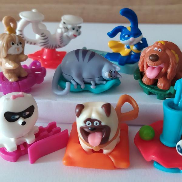 Coleção Pets Kinder Ovo Completa