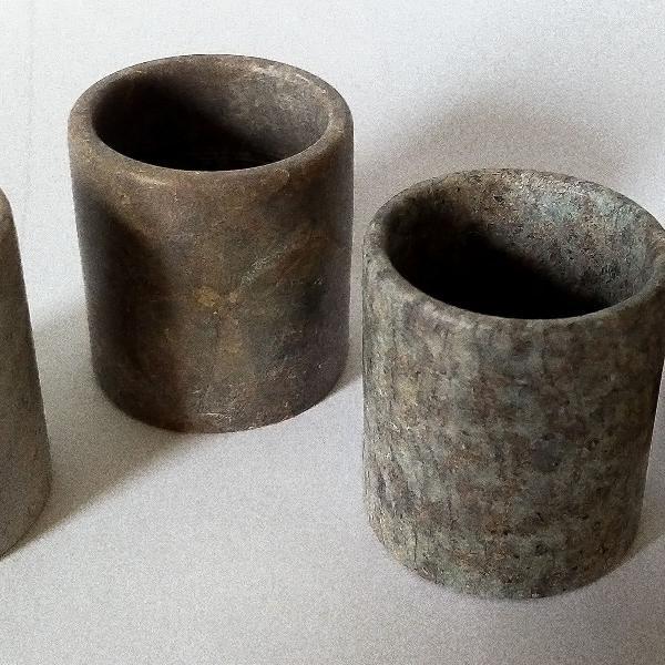 Copinhos de Pedra Sabão