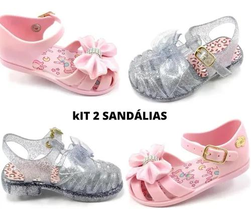 Kit 2 Sandálias Infantil F