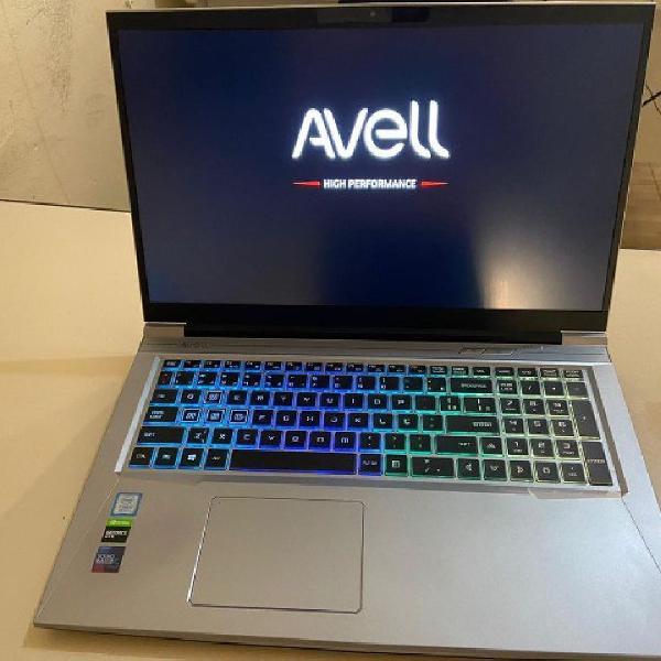 Notebook Gamer Avell i7 16gb ssd 512 + gtx 1060TI 6GB