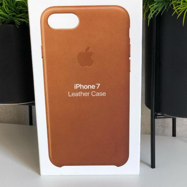 capa de couro para iphone 7