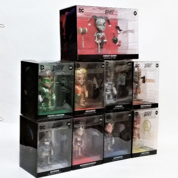 xxray dc comics justice league america dissected vinyl art