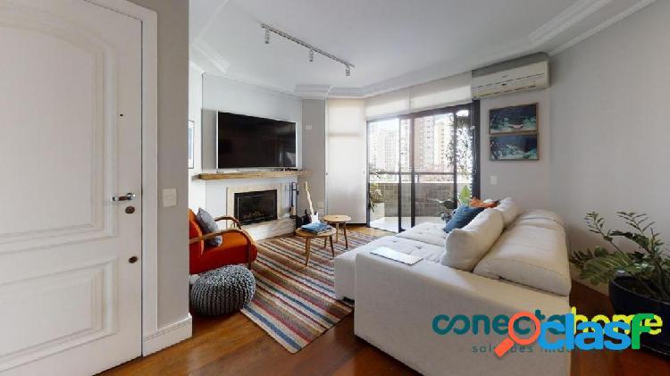 Apartamento de 121 m², 3 dormitórios c/ 1 suíte, 2 vagas