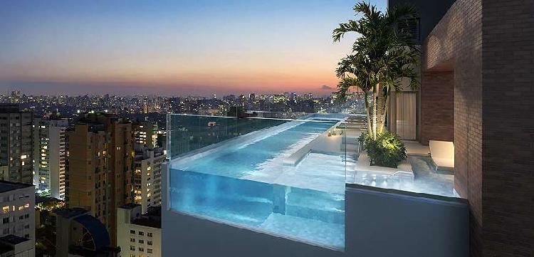 Apartamento para venda 156 metros com 3 quartos, 3 suítes e