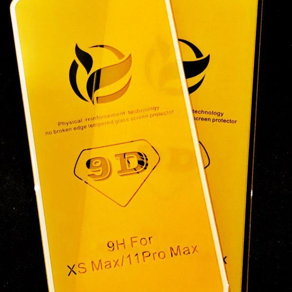 Película Protetora De Vidro Temperado 9d P/ iPhone XS MAX e