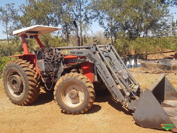 Trator Massey Ferguson 290 4x4 ano 90