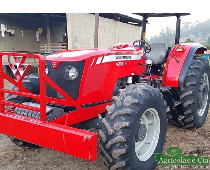 Trator Massey Ferguson 4292 HD 4x4 (Apenas 1.570 Horas)
