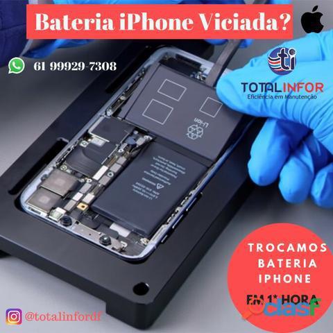 Bateria IPhone 7 6 e 6s Plus em ate 1 hora 100% Original