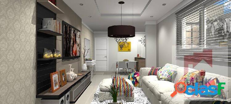 Apartamento 3 Dorm. / 2 Suítes / 2 Vagas - Campestre -