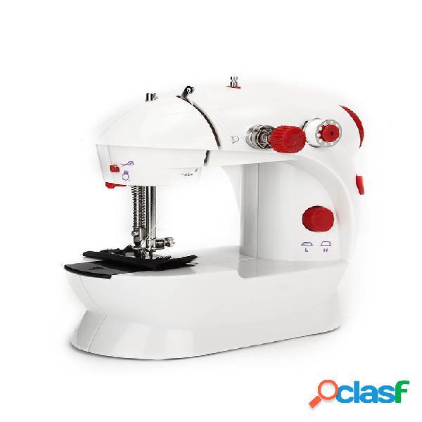 Mini máquina de costura elétrica de corda automática de