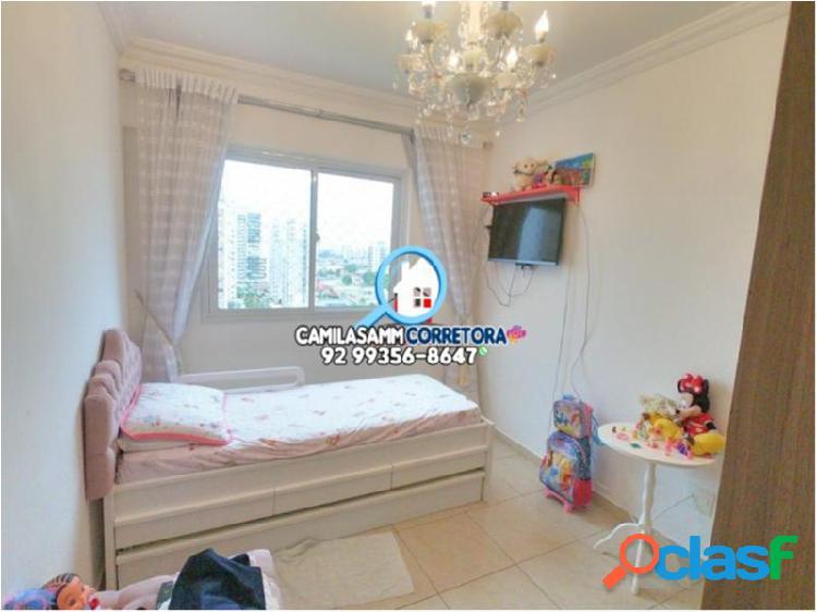 Mundi Resort Residencial - Apartamento com 3 dorms em Manaus