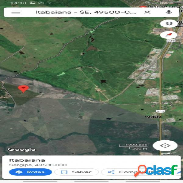 Terreno - Venda - Itabaiana - SE - Área Rural de Itabaiana