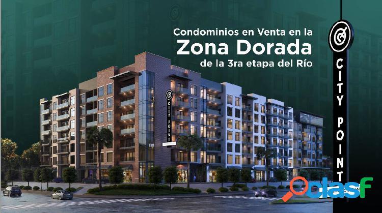 CONDOMINIOS EN VENTA EN LA ZONA DORADA DE LA 3ra ETAPA DEL