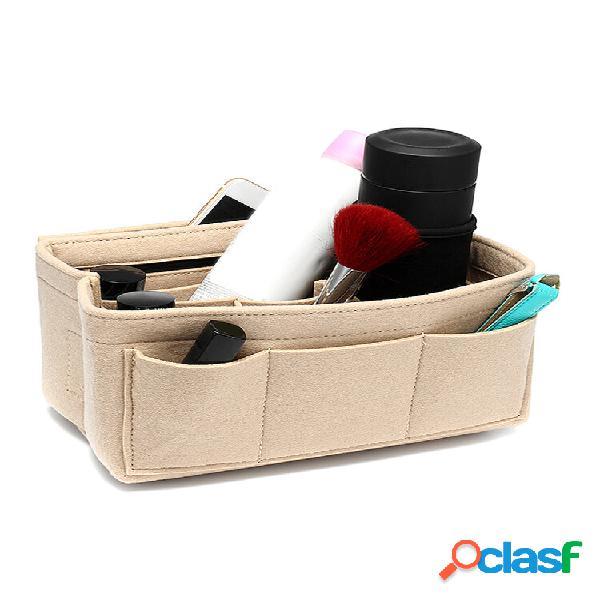 Pastilha de feltro Bolsa Organizador de bolsa de mão com