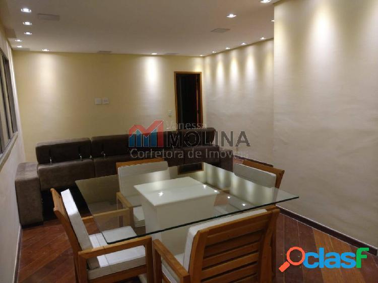 Apartamento 3 dormitórios 2 vagas - 114m² - MOBILIADO -