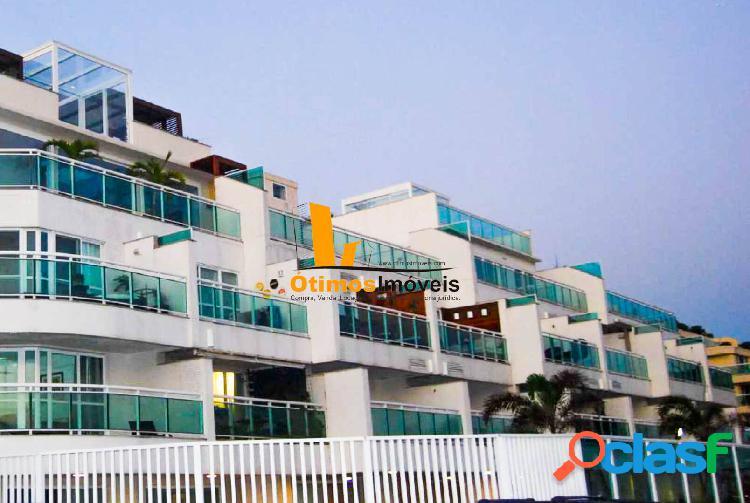 Apartamento espetacular pé na areia da Praia da Macumba -