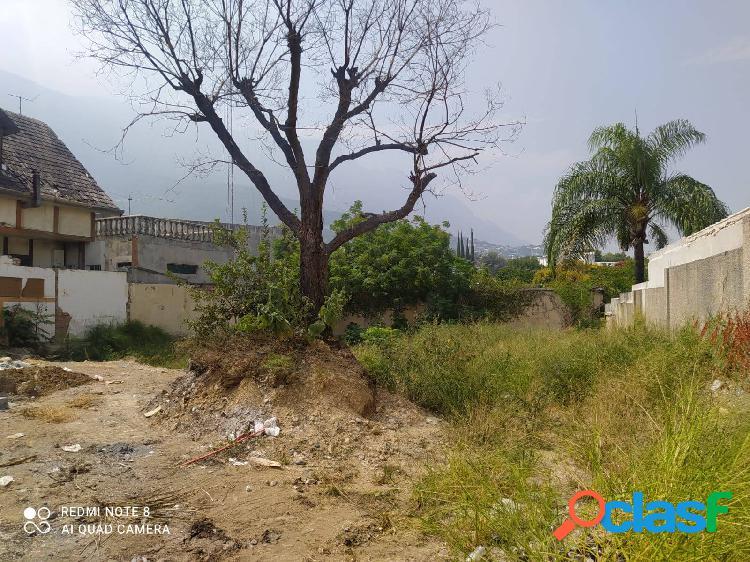 Terreno en Venta en Lomas del Valle San Pedro