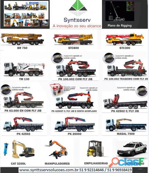 remoção Industrial Porto Alegre 51 9 92314646 Synttsserv